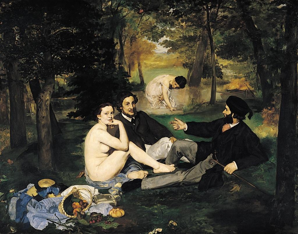 Manet, Déjeuner sur l'herbe