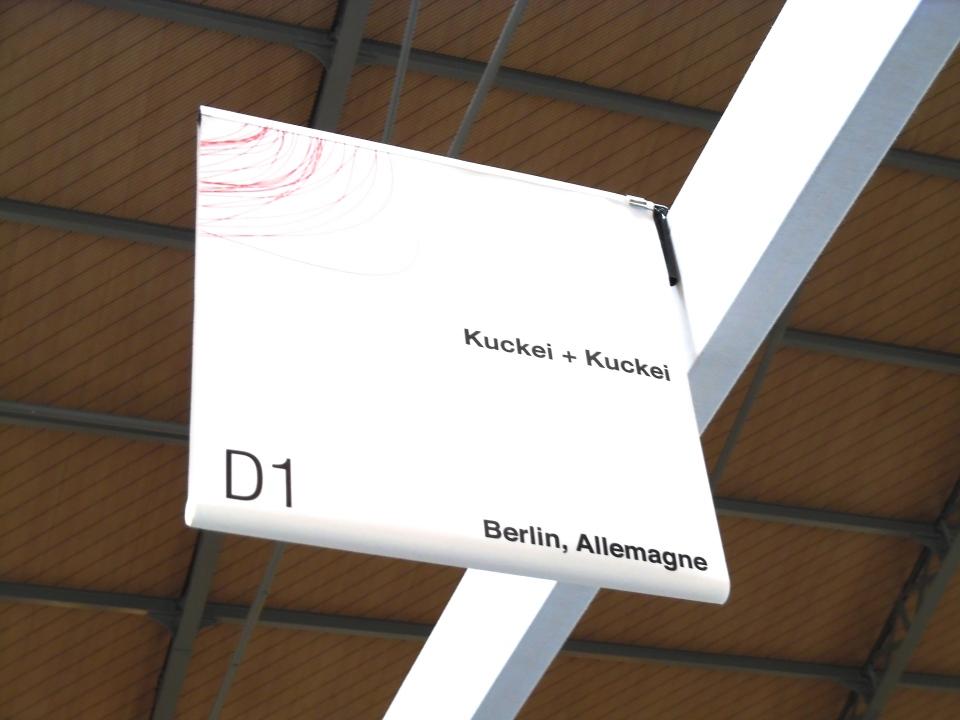 Drawing now 2015 Kuckei + Kuckei