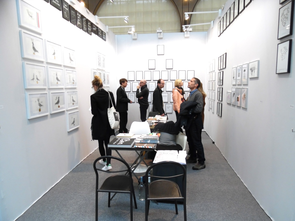 Stand Drawing now 2015 galerie Lara Vinci