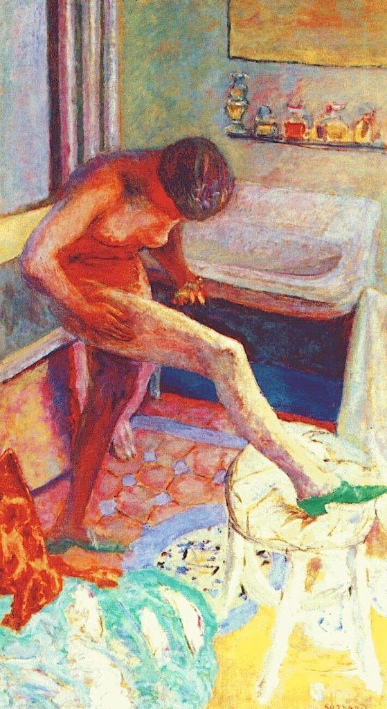 La mule verte, 1925, Pierre Bonnard