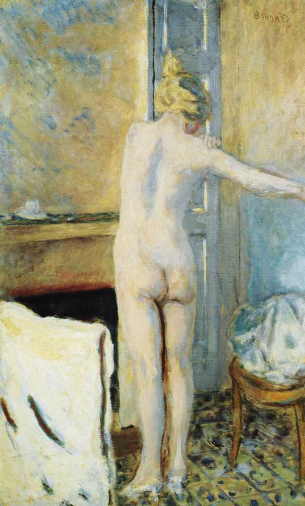 La toilette au miroir, Pierre Bonnard