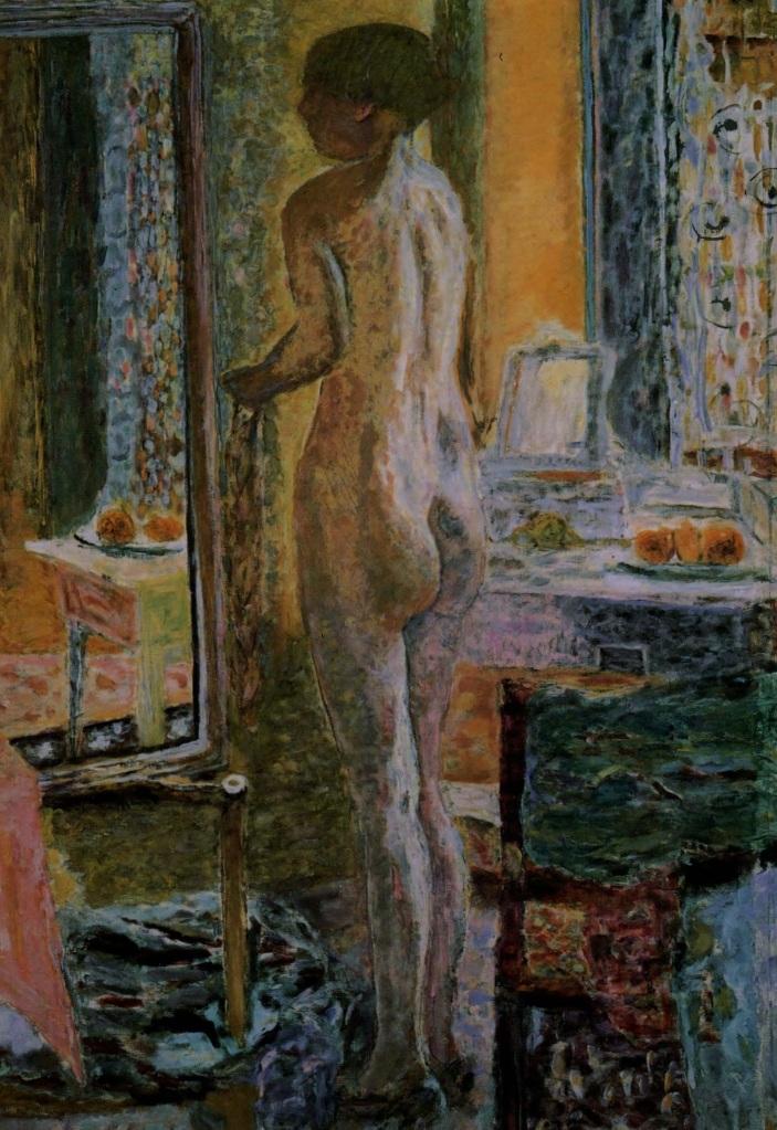 Nu au miroir, 1931, Pierre Bonnard