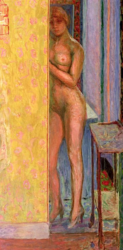 Pierre Bonnard, The yellow screen