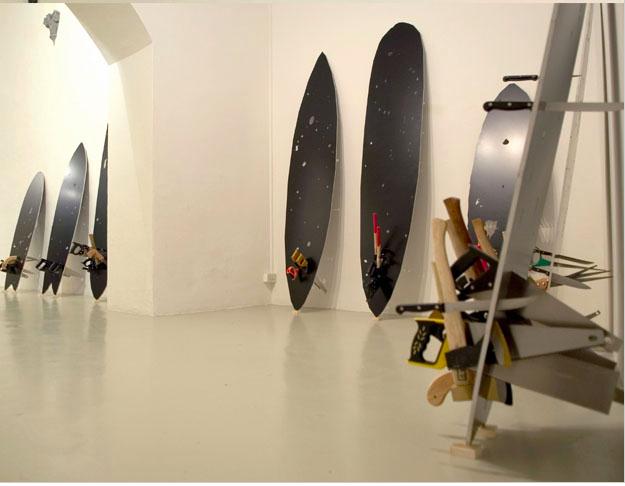 Bruno Peinado, galerie Loevenbrucke