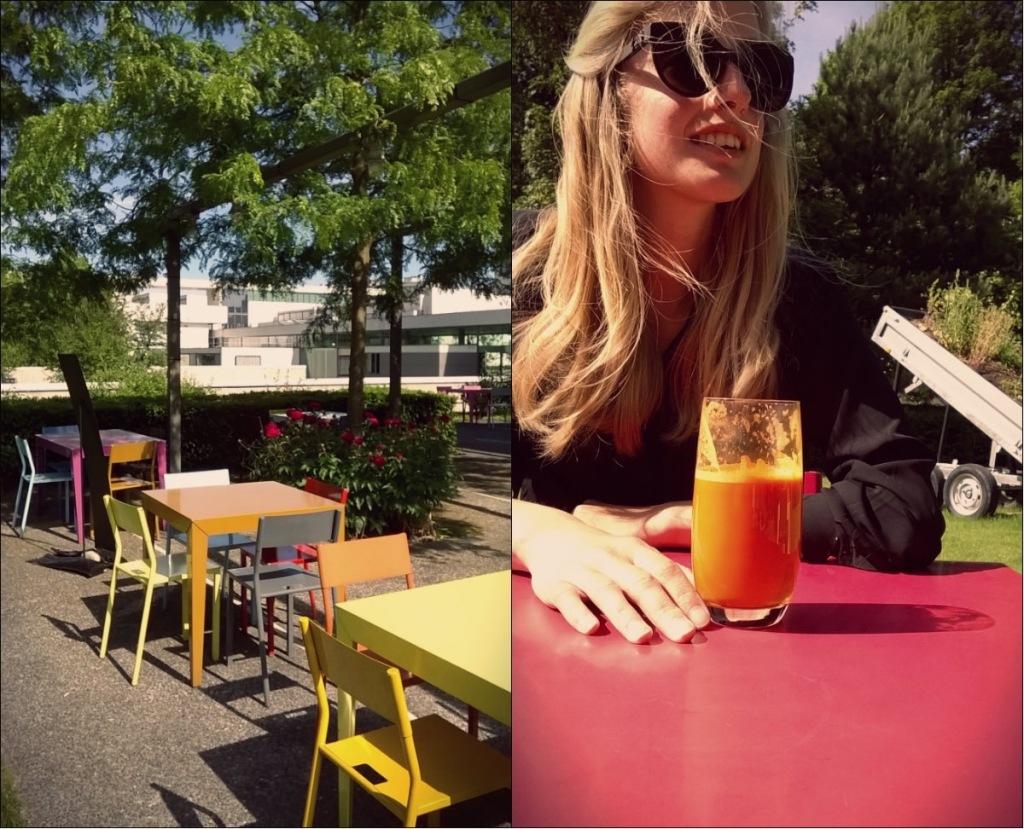 Elodie Bernard (moi), exposition et nice day, Mac/Val