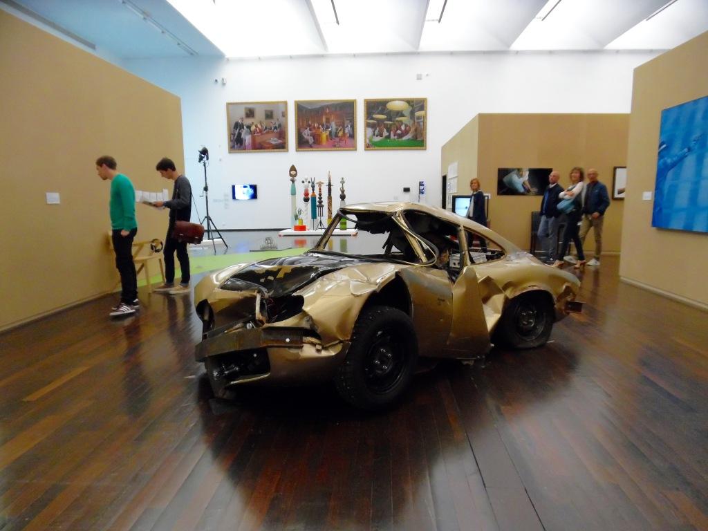 Vue de l'exposition, chercher le garçon MAc/Val, art contemporain