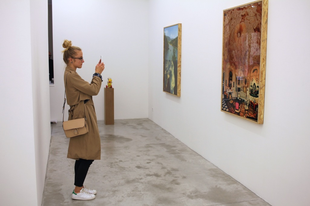 Pierre Ardouvin, Wicked world, 2015, Galerie Praz-Delavallade