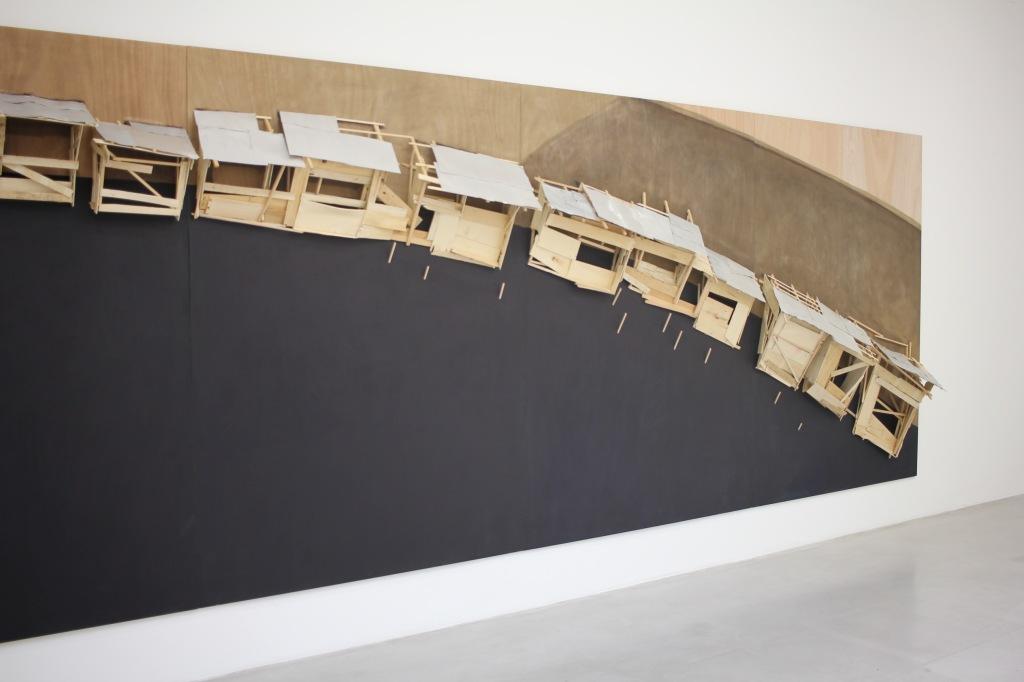 Tadashi Kawamata, galerie Kamel Mennour, 2015