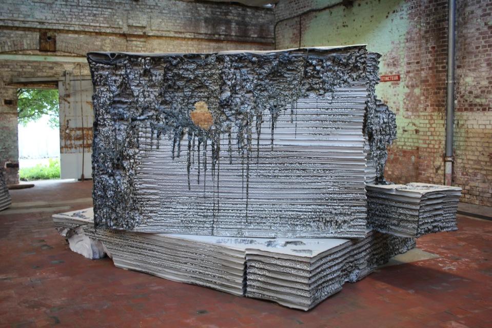 Sans titre mais avec particules, Anita Molinero, 2015