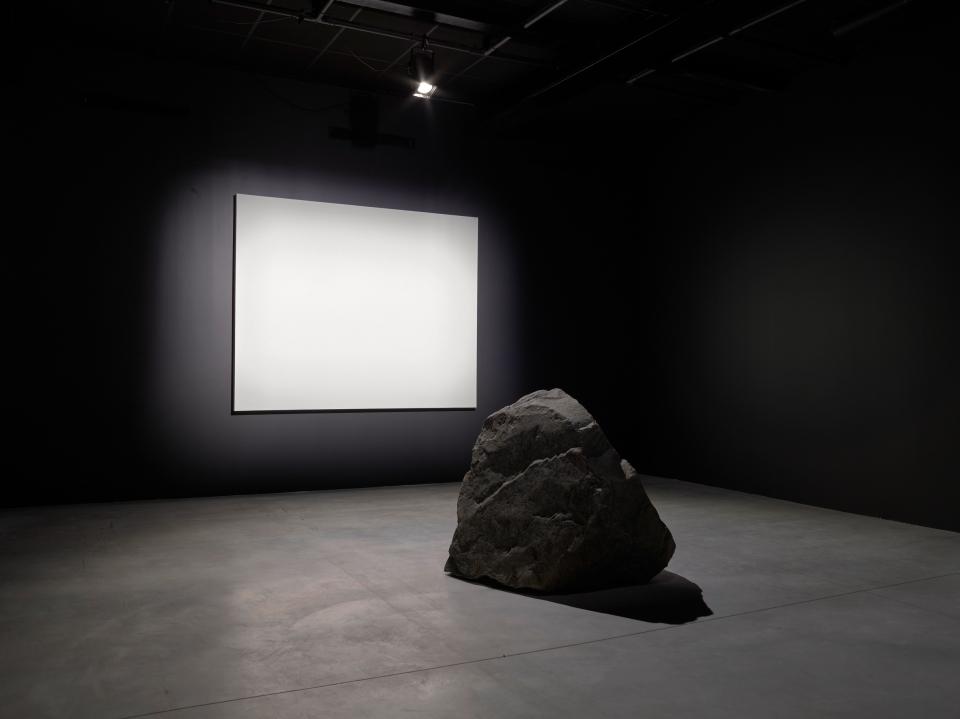"""LEE Ufan vue exposition """"Préssentiment"""" CCC OD 2017"""